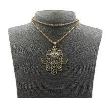 Colgante Collar de Mano de Fatima Amuleto de la Suerte OFERTA PAGA 2 LLEVA 3!