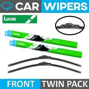 Mercedes-Benz C Class Coupe 2008 - 2013 Lucas AIRFLEX Wiper Blades - Twin Pack