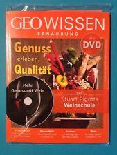 Geo Wissen Ernährung Nr.3 mit DVD !!!  Weinschule   ungelesen 1A absolut TOP