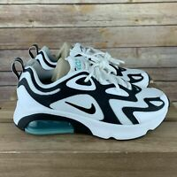 "Nike Air Max 200 White Black ""Dusty Cactus"" AT6175 105 Women's SIZE 7 *"