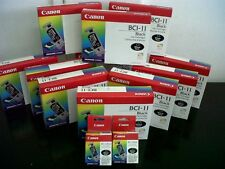 CARTUCCIA CANON ORIGINALE  BCI-11 BLACK NERA E COLOUR