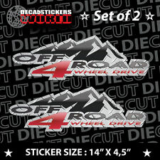 *NEW* 4X4 SPORT OFFROAD DECAL STICKER ZR2 FX2 B2000 JIMMY BLAZER TRAIL S10 425