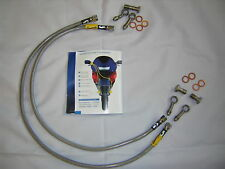 Suzuki GSF650 Bandit 05-06 Goodridge Stainless Steel Front Brake Line Kit