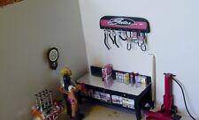 GATES - Radiator Hoses & Fan Belts on mountable wall rack-SCALE-1/18 diorama