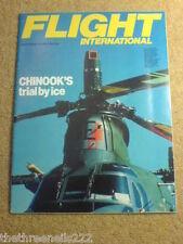 FLIGHT INTERNATIONAL - CHINOOKS - 28 April 1984