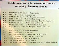 MC / AUSTRIA PROMO / STS / HIRSCH / JACK GRUNSKY / OSTBAHN KURTI / RARITÄT /