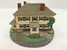 """Rhodes Studios """"Rockwell'S Residence"""" Norman Rockwell Hometown Coll 1990 Signed"""