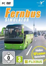 PC Computer Spiel Der Fernbus Simulator + Fussball Manschaftsbus Bus Fahr Auto