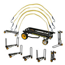 Rock N Roller R16RT 8 in 1 Max Equipment transport cart with 4 Bungee Straps