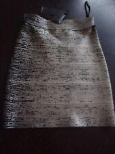 BCBG gold foil skirt - XS