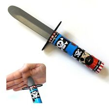 PIRATE DAGGER RETRACTABLE BLADE TOY BOYS FUN XMAS GIFT BIRTHDAY PARTY BAG FILLER