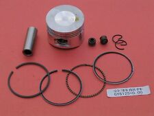 Piston Bore 52.4mm Rings Wrist Pin for Honda GY6 125 HM 125 Motorcycle 125cc
