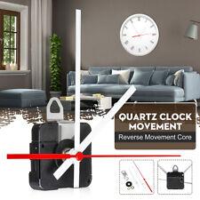 Replacement Backward Reverse Running Silent Clock Movement mechanism DIY