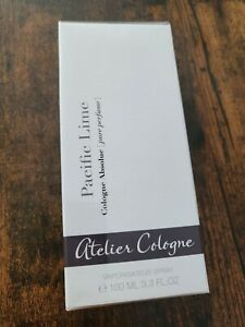 ATELIER COLOGNE pacific lime Cologne Absolue Pure Perfume SPRAY 100 ml NEU