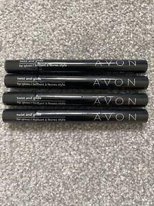 Avon Twist And Glide Lip Gloss Bundle, 3 X Coral & 1 X Pink