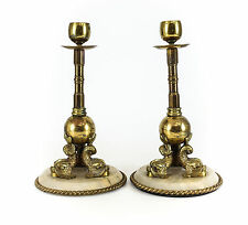 Bronze Antique Candlesticks