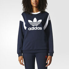 34ded833759 adidas Women s Grey Sweat Shirt Size UK 10 EU 36 Original Trefoil Crew Neck.  EUR 28.54. Almost gone · adidas Originals Women s Retro Trefoil Logo  Sweatshirt ...
