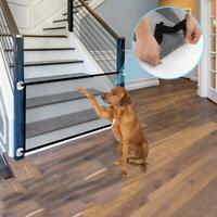 Portable Pet Barrier Fences Mesh Dog Gate Baby Safety Separation Guard Net Large