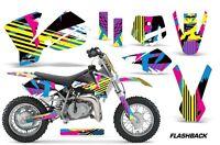 Dirt Bike Decal Graphics Kit Sticker Wrap For KTM SX50 SX 50 2002-2008 FLASHBACK