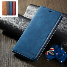 iPhone X XS Max XR 7 8 Plus 6S 5S SE 11 Pro Max Case, Leather Wallet Flip Cover