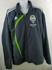 Adidas Mens Seattle Sounders Sideline Jacket Coat Size XL Full Zip Xbox 360