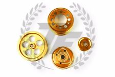 FD3S light weight Aluminum Pulley 13B Mazda Rotary RX-7 RX7 Gold Yellow