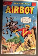 Airboy #34 NM- 1st Print Free UK P&P Eclipse Comics