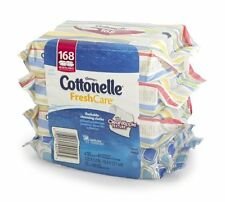 4 Cottonelle Flushable Cleansing Wipes (4X42 Wipes) 4 Pack Special