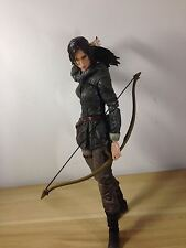 Authentic Square Enix PlayArts Tomb Raider Rise Lara Croft Action Figure(no box)