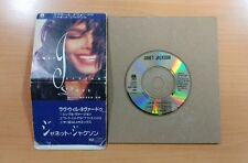 """JANET JACKSON Love Will Never Do Without You CD 8cm  3"""" SINGLE JAPAN PCDY10021"""