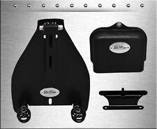 "2000-2017 La Rosa Harley Softail Solo Seat Mount Kit + 4"" Black Barrel Springs"