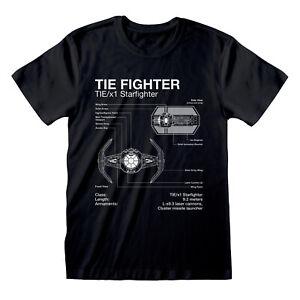 Star Wars Tie Fighter T-Shirt Official Merchandise M/L/XL OVP & Neu