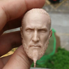 """Blank 1/6 Scale The Ancient Barbarian Vikings Head Sculpt Unpainted Fit 12"""" Body"""
