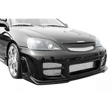 KBD Body Kits R34 Style Polyurethane Front Bumper Fits Honda Civic ALL 01-03
