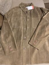 Suede Leather Suit