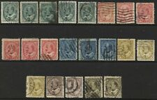 CANADA 1903-12 SG173 - 186 good selection of shades Good Used  #M015