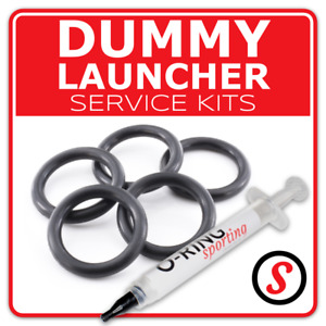 DUMMY LAUNCHER O Ring Seal washer service kit + OPTIONAL GREASE
