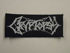 CRYPTOPSY WOVEN PATCH