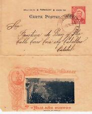 Asuncion - Paraguay - Carta Postal 1901