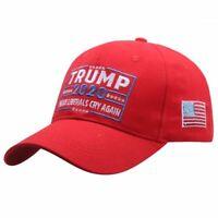 New Arrival Trump 2020 Make Liberals Cry Again Letters Snapback Hat Trucker Cap