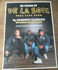 More details for de la soul - live music show may 2020 promotional tour concert gig poster