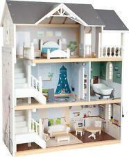 Puppenhaus Stadtvilla mit Möbeln aus Holz von Small Foot