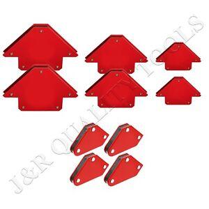 10pc Welding Arrow Magnet Set Mini Weld Holder Up to 75 LB at 45, 90 or 135 Deg