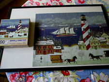 """Bits and Pieces 500 Piece """"Christmas In The Carolinas"""" Jigsaw Puzzle"""
