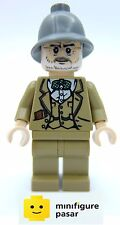 iaj002 Lego Indiana Jones 7198 7620 - Henry Jones Sr. Grey Helmet Minifigure New