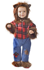 Dress up America Cute Wolfman Hairy Costume For Baby