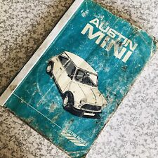 Vintage Austin Rover Mini Repair Manual March 1976 Chassis No 340001 + 1986 Edn