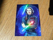1996 Star Wars Finest - Refractor Holochrome Parallel Gold Card # 26 - Adm Daala