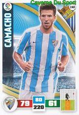240 CAMACHO ESPANA MALAGA.CF CARD ADRENALYN LIGA 2016 PANINI