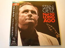 "Stan Getz ""Not So Long Ago""  Japan mini LP CD"